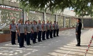 兰州保安公司持续推进校园保安大练兵活动